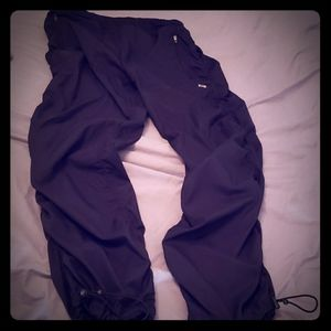 Rouched joggers